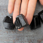 High Quality Black Tourmaline Stone