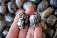 Large Spiderweb Jasper Stones for Gazing, Creativity and Protection