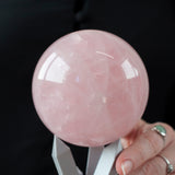 Star Rose Quartz Sphere