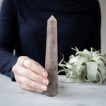 Smoky Quartz Tower