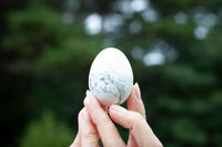 white howlite egg