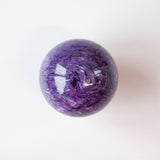 Charoite Sphere AAA, 2in