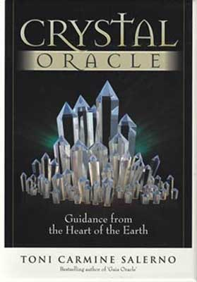 Crystal Oracle Card Deck & Book by Toni Carmine Salerno