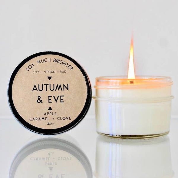 Autumn & Eve: Caramel + Apple + Clove // 4oz