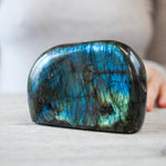 Blue Green Labradorite Freeform