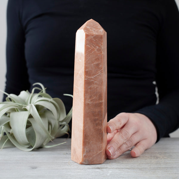 Peach Moonstone Tower