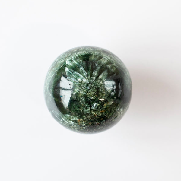 Seraphinite Sphere, 1.9in