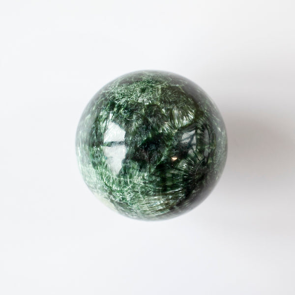 Seraphinite Sphere, 2.4in