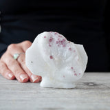 Red Spinel in Marble