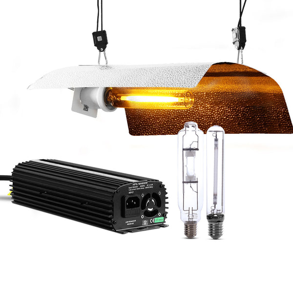 Greenfingers 400W HPS MH Grow Light Kit Digital Ballast Reflector Hydroponic Grow System Kit
