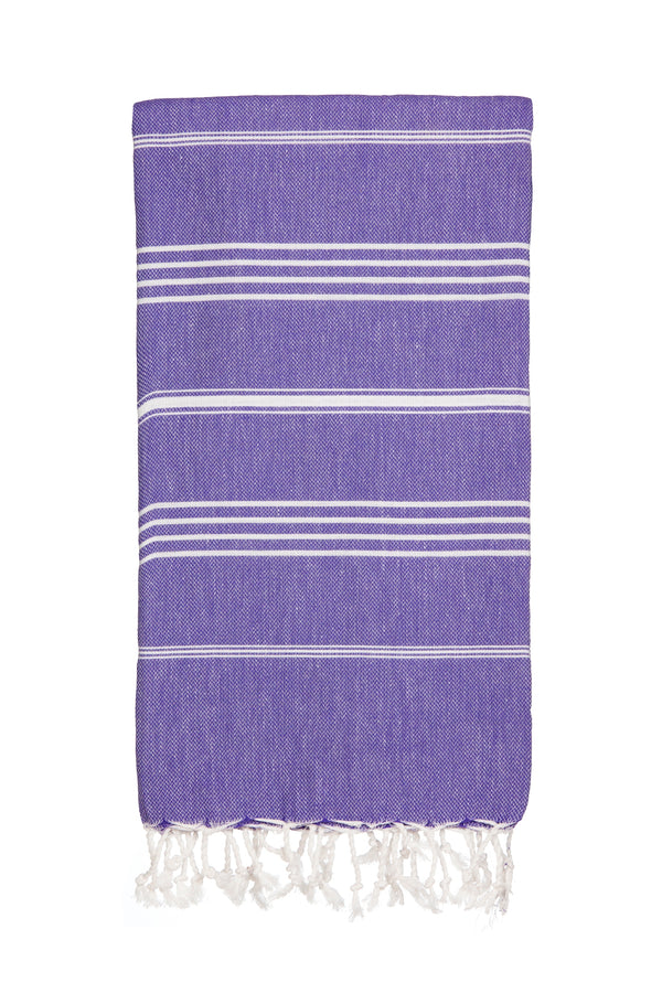 Towel-Hammamas Super Absorbent Towel - Iris