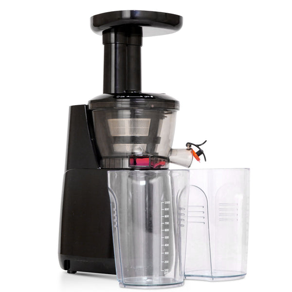 Devanti High Yield Cold Press Slow Juicer - Black