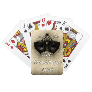 Playing Cards - The Washington Club