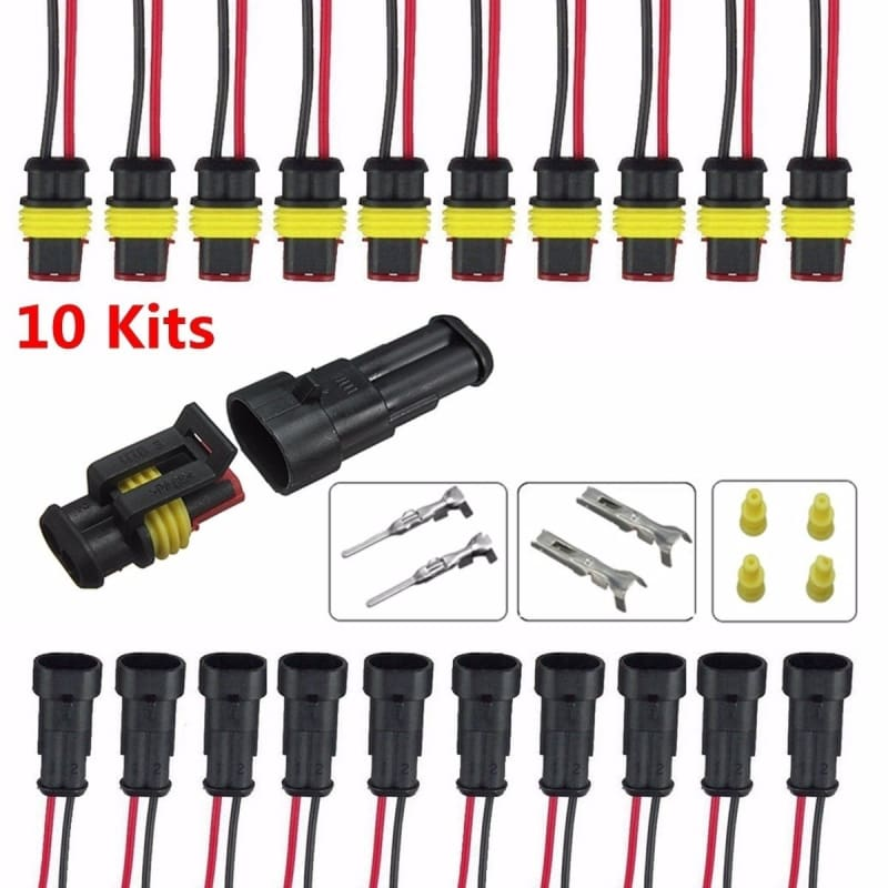 Car Wire Connector Plug Kit Car Auto Sealed Electrical Waterproof High Quality