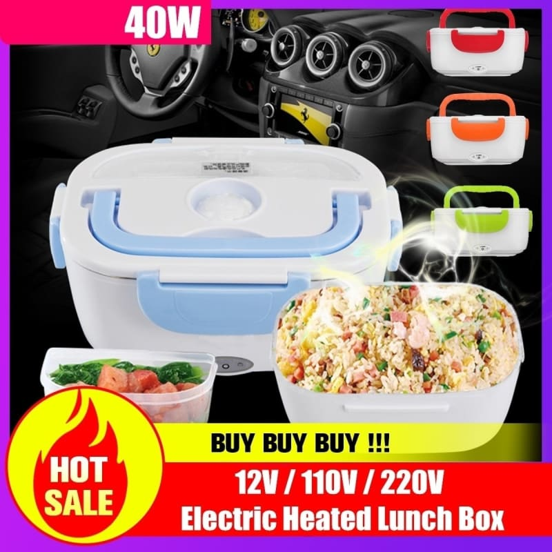 Portable Plastic Lunch Box Picnic Bento Storage Kids Bowl Food Container+Spoon