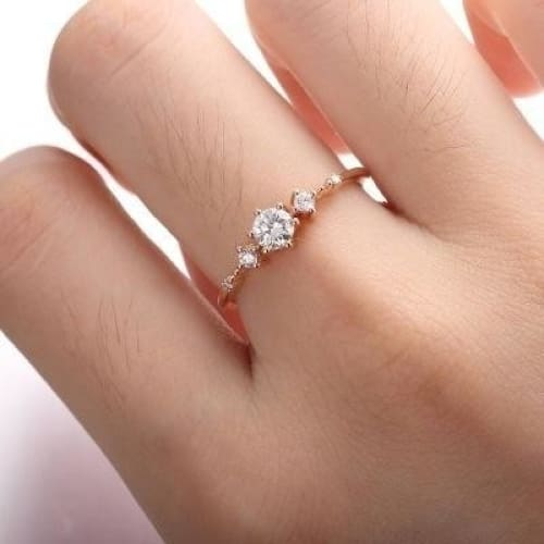 Palladium Plated Sterling Silver Extravagant Flower Ring