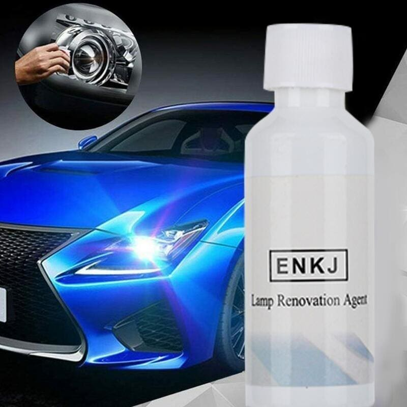 1PC ENKJ-20ML Headlight Repair Fluid Headlight Yellowing Polishing Agent Headlight Refurbishment