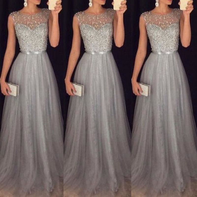Women Evening Party Prom Bridesmaid