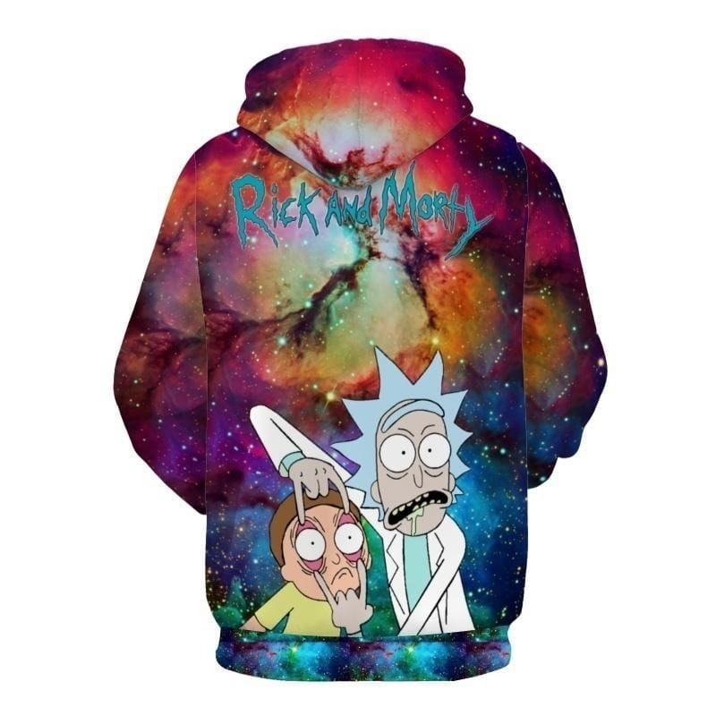 2018 Men's Cool 3D Cartoon Hoodies Soft and Comfortable Pullover Sweatshirt(US SIZE)