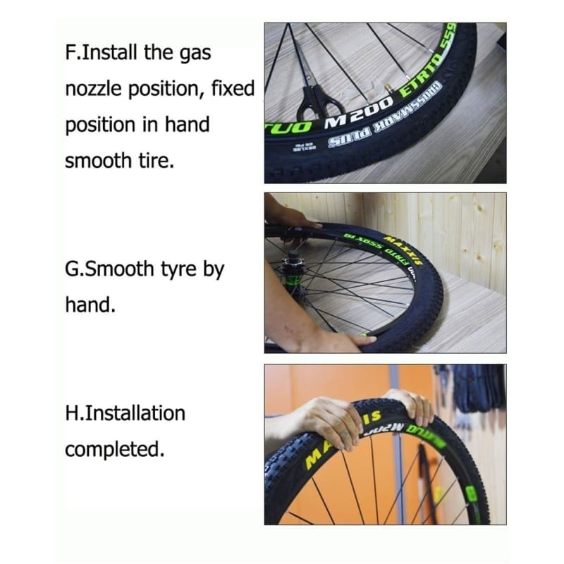 2Pc Bicycle Wheels Tire Liner Puncture Proof Belt Protection Pad Bike Tyre Set