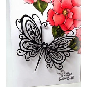Craft Die scrapbooking UK Seller card Making Butterfly And Frame