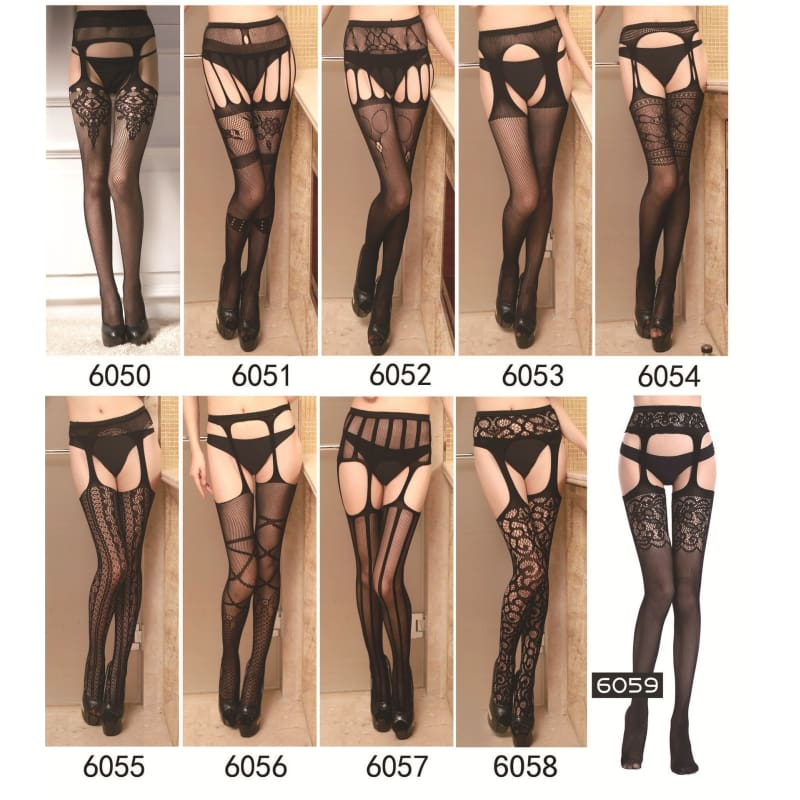 Mesh Lace Sheer Top Thigh-High Stockings Fashion Womens Pantyhose Socks USA