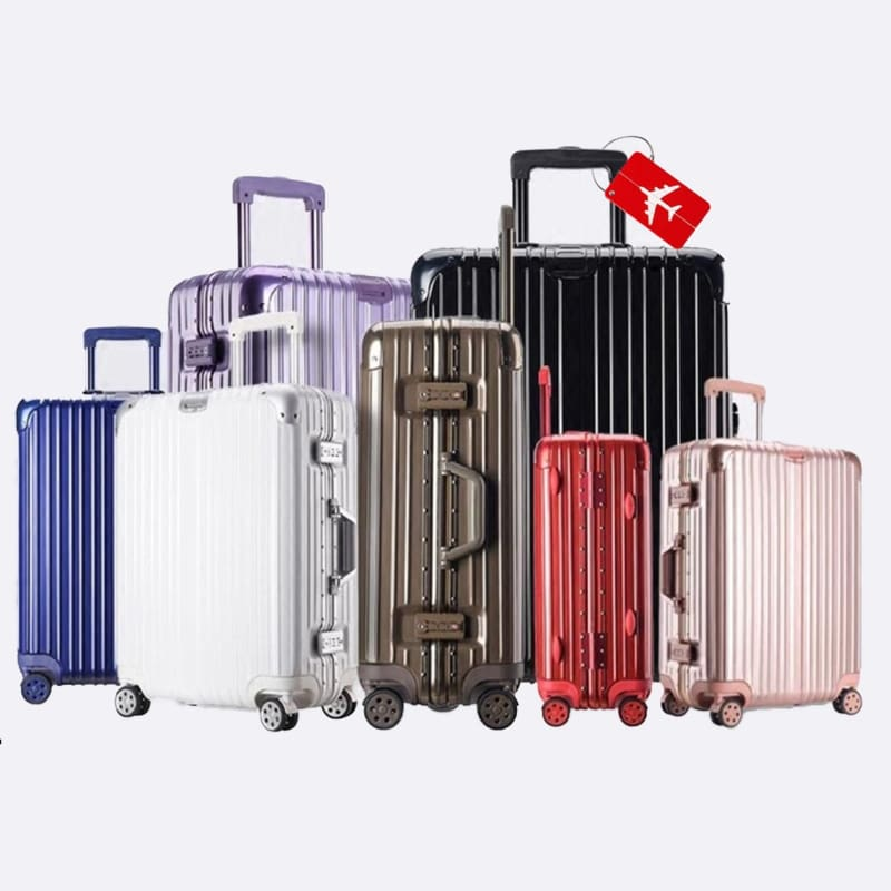6pcs//Set Vintage Fashioned Style Luggage Suitcase Travel Waterproof Stickers New