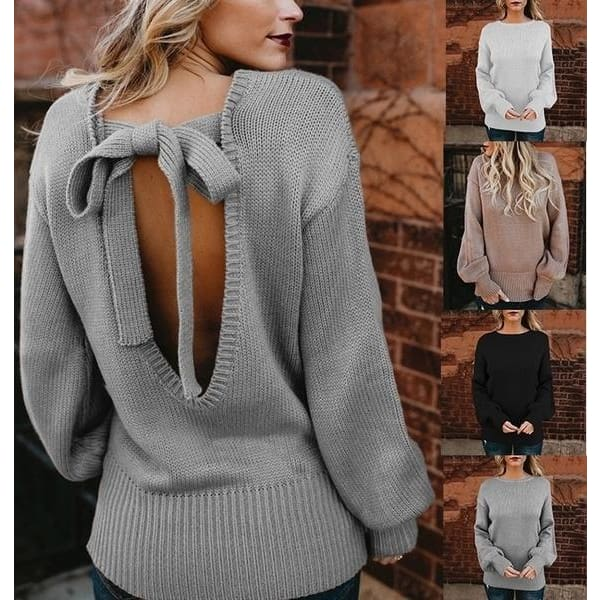 Womens Color Block Turtleneck Cardigan Sweater Tops Winter Loose Blouse Pullover