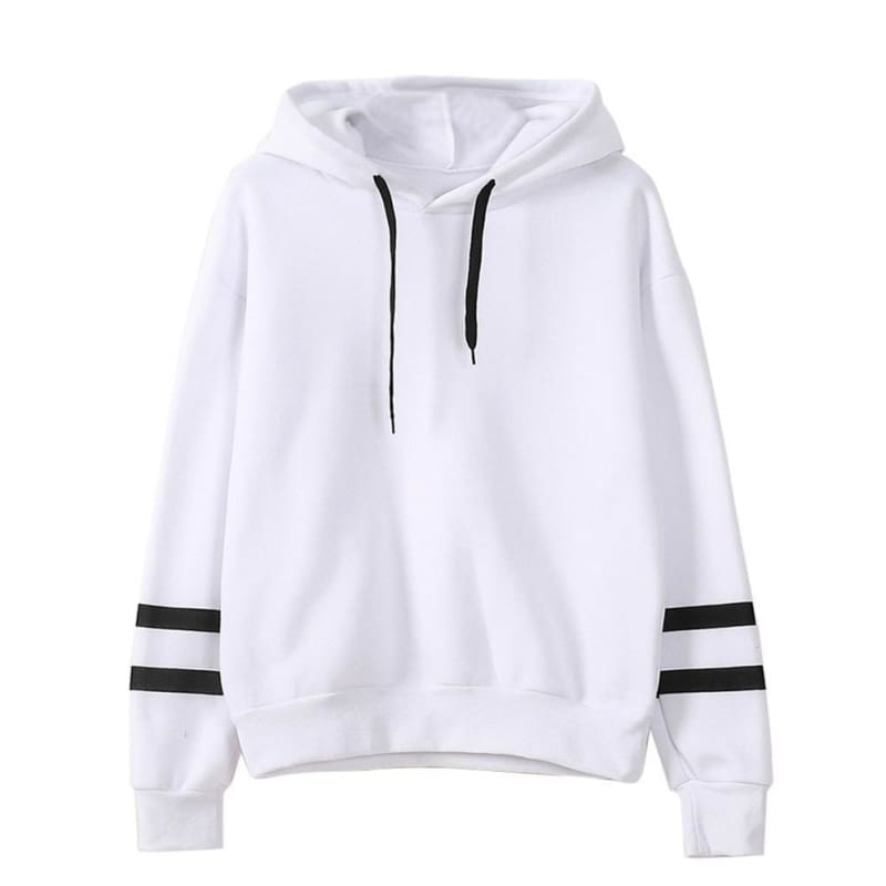 Autumn and Winter Womens Long Sleeve Hoodie Sweatshirt Jumper Hooded Pullover Tops Blouse