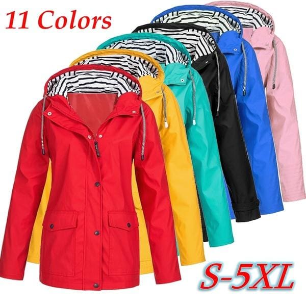 MenFashion Waterproof Windproof Double Layer Jacket Outdoor Sports Outwear GIFT