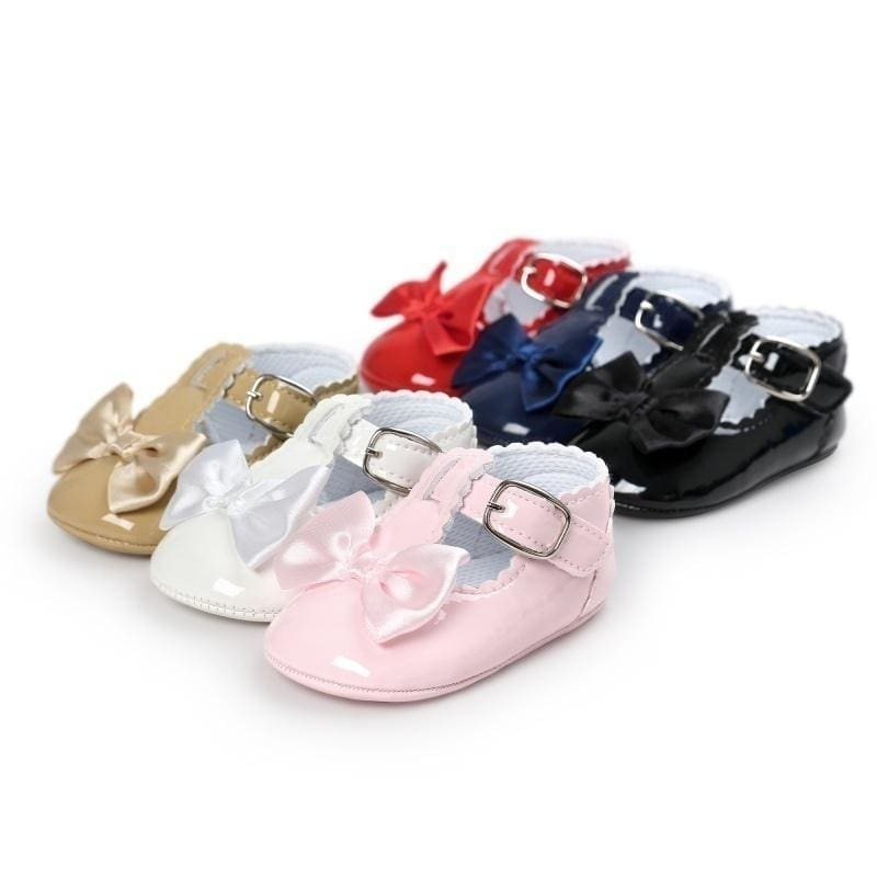 Baby Girls Anti slip Crib Shoes Soft Sole Sneakers Baby Shoes