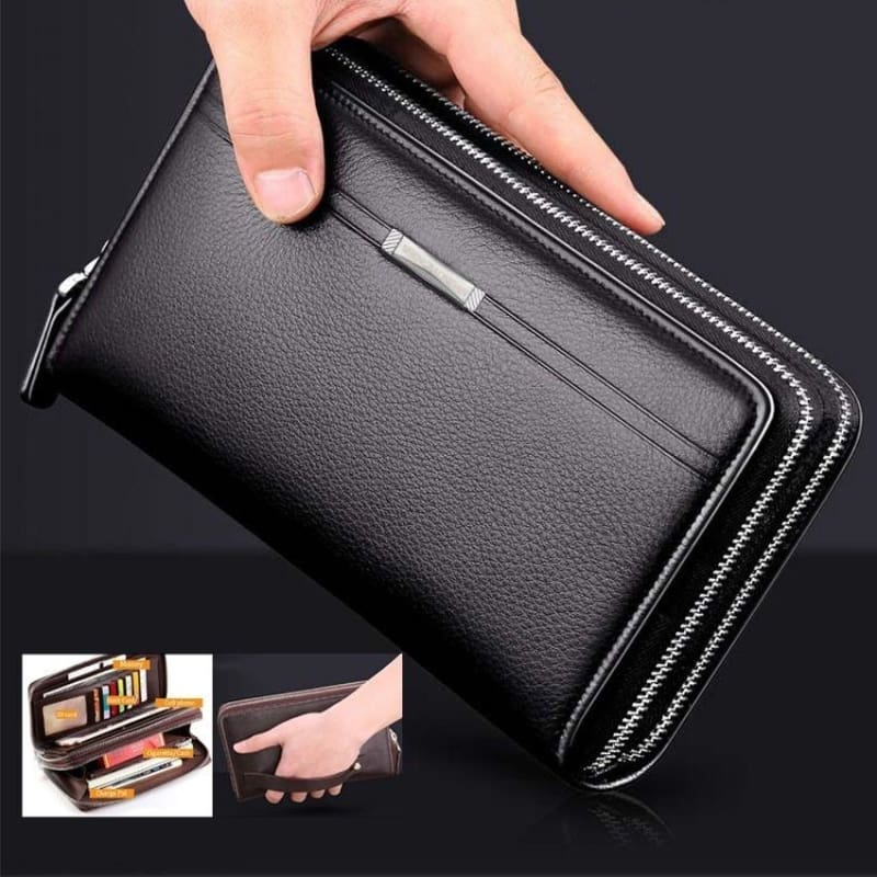 New 6 Colors Lady/'s Long Purse Clutch Wallet High Quality Zip Bag Card Holder PU