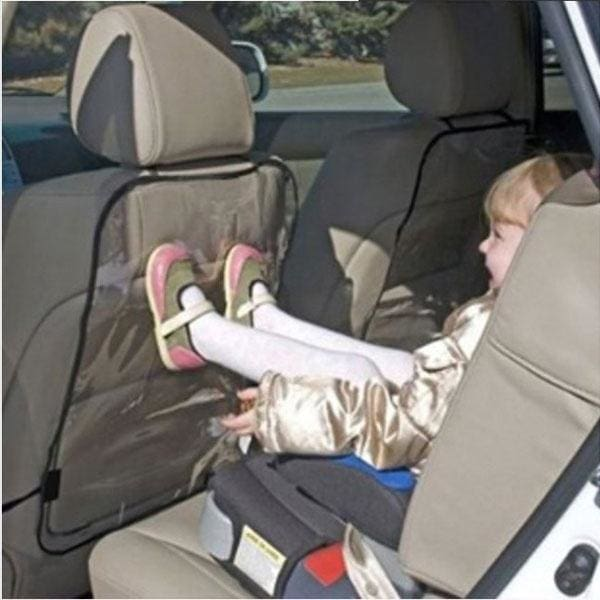 Children Baby Kick Mat Storage Bag Car Seat Back Protector Cover Keeping Clean