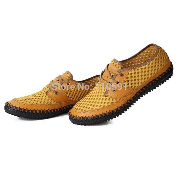 New Women Hollow Out Breathable Flat Slippers Sandal Slip On Loafers Sweet Zsell