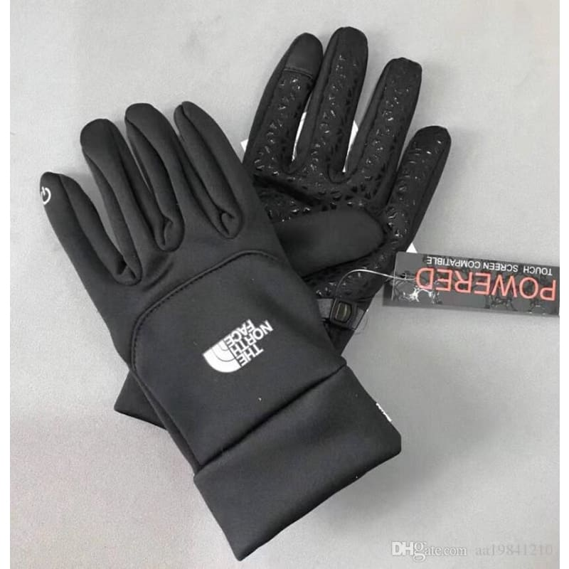 1 Pair Unisex Winter Gloves Touch Screen Warm Waterproof Outdoor Riding Gears