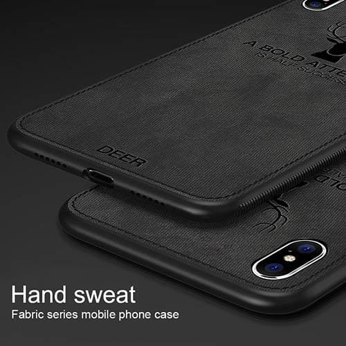 iPhone 6/7/8 Plus Fabric And Leather