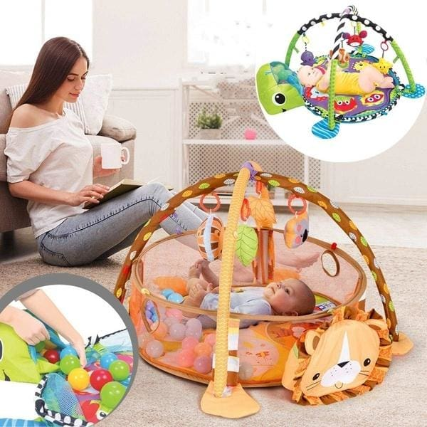 Cute Baby Play Mat Crawling Blanket Toddler Kids Activity Floor Rug 95cm//37in