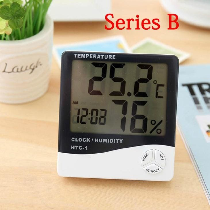 Thermometer Humidity Meter Room Car Temperature Indoor home Hygrometer