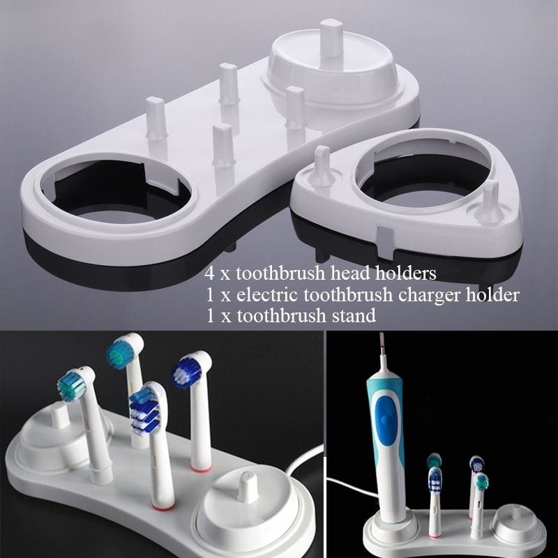 Clear Electric Toothbrush Dustproof Cover Cap Case Holder For Braun Oral-B NEW