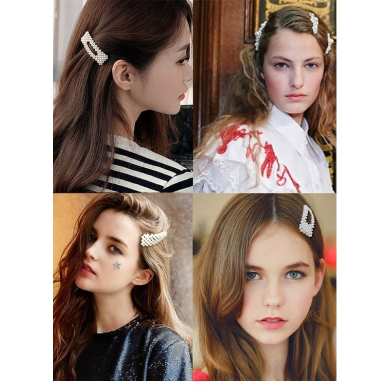 Floral Hair Claw Grip Adult Women Fashion Head Wear Bridal Ornament Accessories