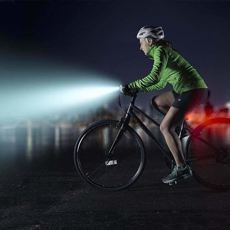 Light Led Bike Bicycle Rechargeable Rear Front USB Cycling Headlight Waterproof
