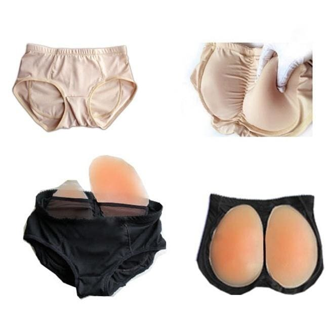 Gorgeous Silicone Hip Pads Fake Buttocks Hip Pad Enhance Butt Panties
