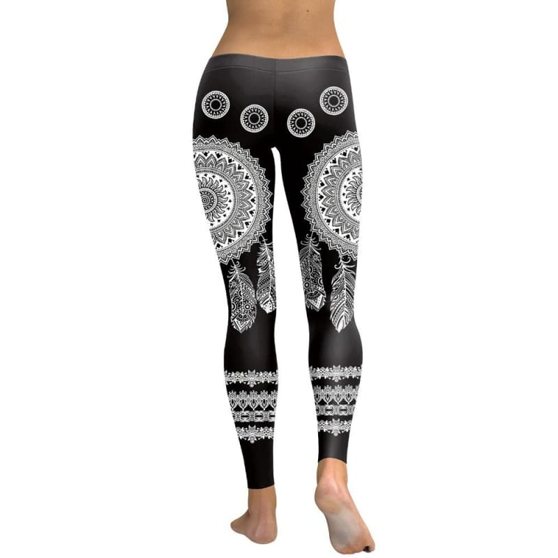 Gothic Punk Rock Fashion Apparel 3D Mandala Printed Fitness Sporting Leggings Adventure Time Workout Leggins S-XL