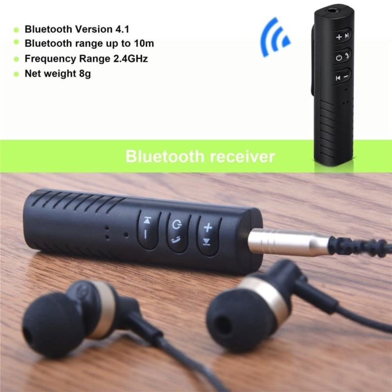 Wireless Bluetooth Music Receiver Adapter For 3.5mm Car AUX//Speakers//Headphones