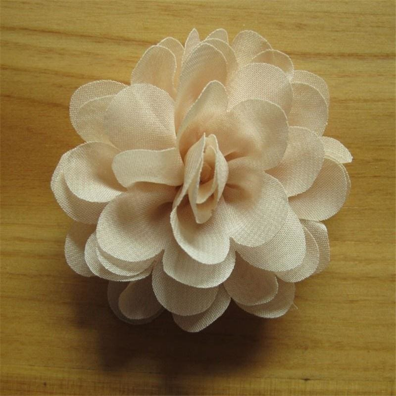 Lot 20~200 Pcs Baby Newborn Chiffon Pearl Wedding Hair Flowers  Headbands 2/""