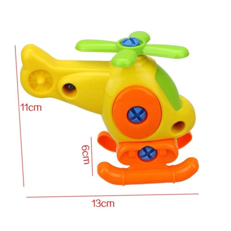 Kids Baby Early Learning Airplane Disassembly Assembly Puzzle Educational Toys S