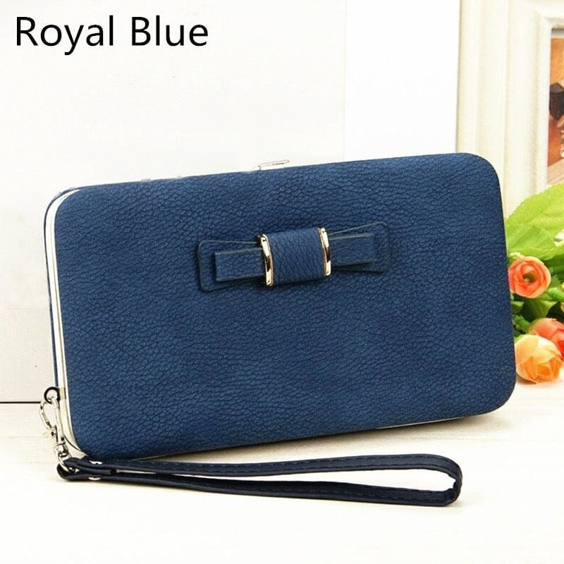Women/'s Purse Pouch Bowknot Handbag Wallet Case Cover for iPhone /& Samsung Model