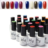 Long Lasting Soak-off Nail Gel Polish LED UV Liquid Gel Nail 6ml (40 Colors for Selection)