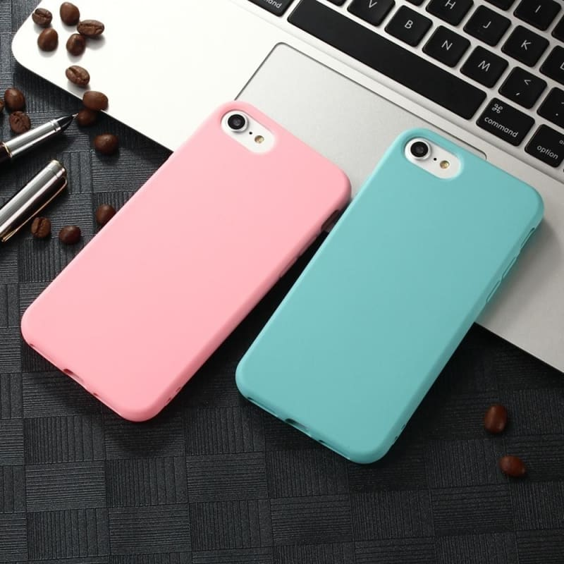 TPU Silicone Frosted Matte Case