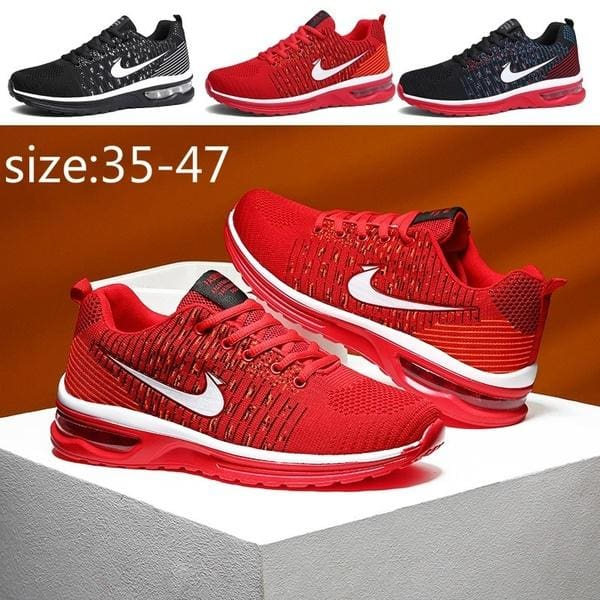 Men Athletic Sneakers Air Cushion Sports Running Casual Breathable Shoes Fashion